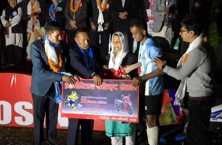 Suraj BK : Best Player of Budha Subba Gold Cup