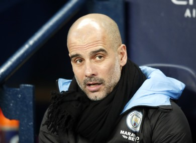 Manchester City wants to tie Guardiola for longer
