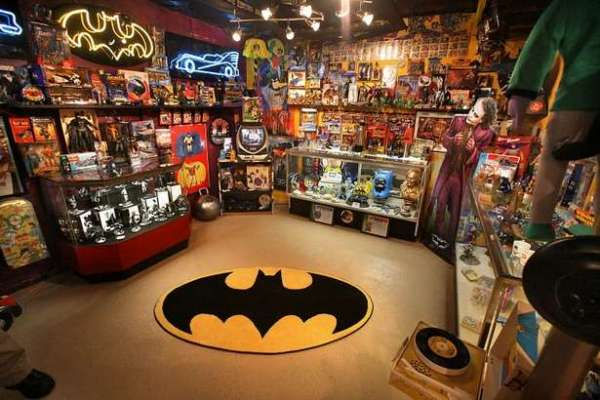 Kevin Silva's Incredible Batman Memorabilia Collection ...