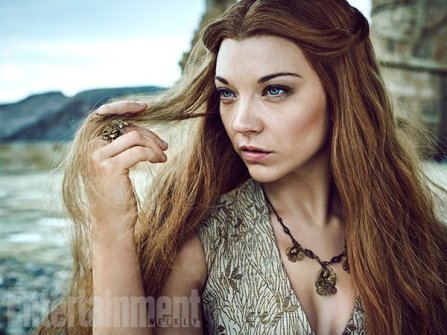 """Natalie Dormer as Margaery Tyrell 'We've seen Margaery in a lot of sticky situations, but she's never been out of her depth before,"""" says Dormer. (Image Credit: MARC HOM for EW)"""