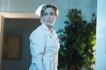 """DC's Legends of Tomorrow -- """"Night of the Hawk"""" -- Image LGN108a_0633.jpg -- Pictured: Caity Lotz as White Canary -- Photo: Dean Buscher/The CW -- © 2016 The CW Network, LLC. All Rights Reserved"""
