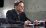 """As Helmut Zemo, Daniel Brühl is a mysterious, manipulative figure who is positioning the heroes against each other. Why? We know, but can't say. It's too much of a spoiler. This character is a significant variation on the cackling, purple-masked Baron Zemo from the Marvel Comics, who led a group that called itself the Masters of Evil. (No mystery about their intentions there.) """"He's still similar to what you know of Zemo, a revenge character,"""" Joe Russo says."""
