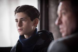 """GOTHAM: L-R: David Mazouz and Sean Pertwee in the """"Wrath of the Villains: Pinewood"""" episode of GOTHAM airing Monday, April, 18 (8:00-9:01 PM ET/PT) on FOX. ©2016 Fox Broadcasting Co. Cr: Jeff Neumann/FOX"""