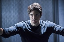 """DC's Legends of Tomorrow -- """"Destiny""""-- Image LGN115a_0118bjpg -- Pictured: Brandon Routh as Ray Palmer/Atom -- Photo: Cate Cameron/The CW -- © 2016 The CW Network, LLC. All Rights Reserved."""