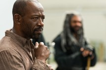 Lennie James as Morgan Jones, Khary Payton as Ezekiel - The Walking Dead _ Season 7, Episode 2 - Photo Credit: Gene Page/AMC