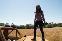 Danai Gurira as Michonne- The Walking Dead _ Season 7, Episode 4 - Photo Credit: Gene Page/AMC