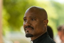 Seth Gilliam as Father Gabriel Stokes - The Walking Dead _ Season 7, Episode 4 - Photo Credit: Gene Page/AMC
