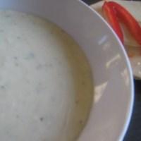 Soppa med jordärtskocka och rotselleri