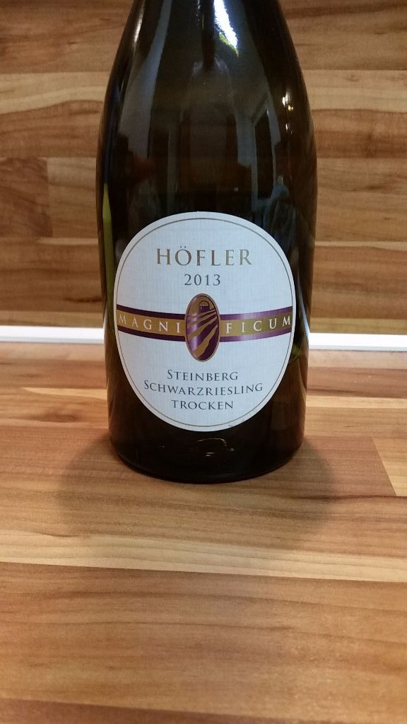 "Höfler, Franken – Michelbacher Schwarzriesling ""Magnificum"" trocken 2013"