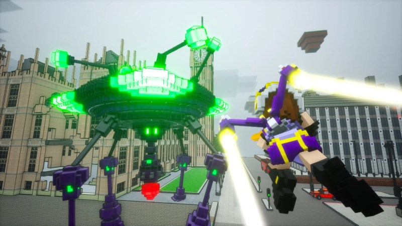 Earth Defense Force World Brothers Jetpack