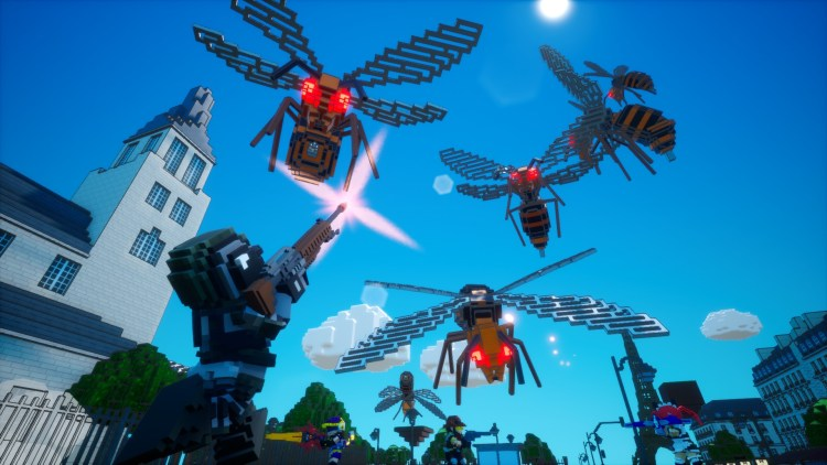 Earth Defense Force World Brothers Wasps