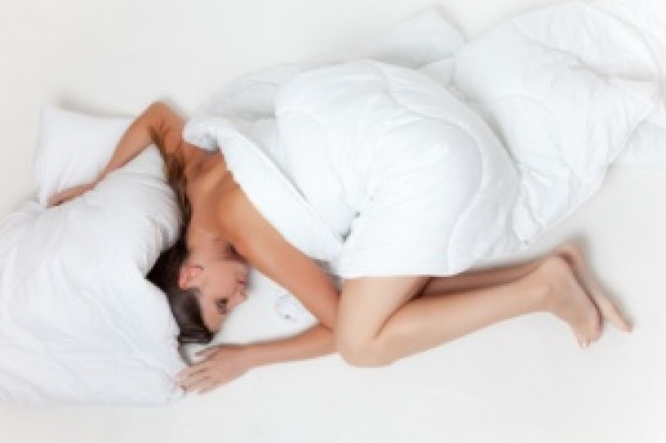 slapen - vrouw - bed