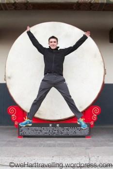 Drum Temple Xi'an #flashjump