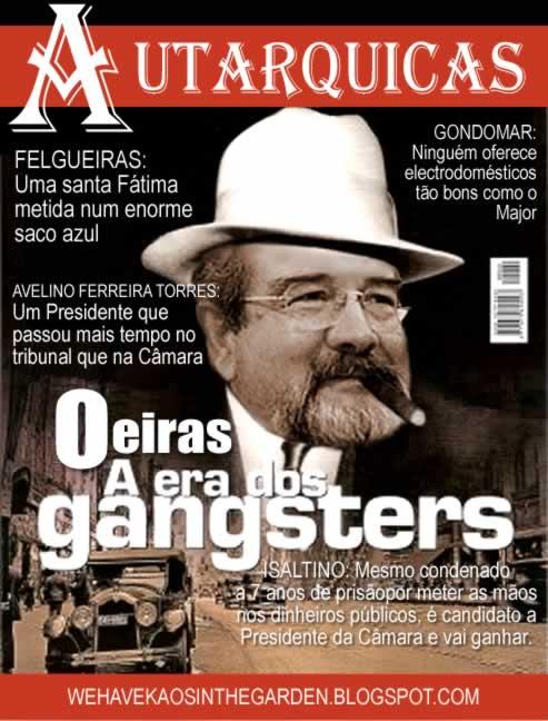 Isaltino Morais gangster revista