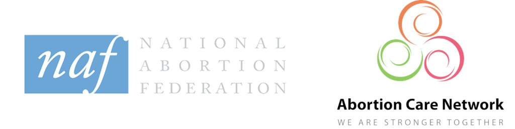 national abortion federation and abortion care network logos