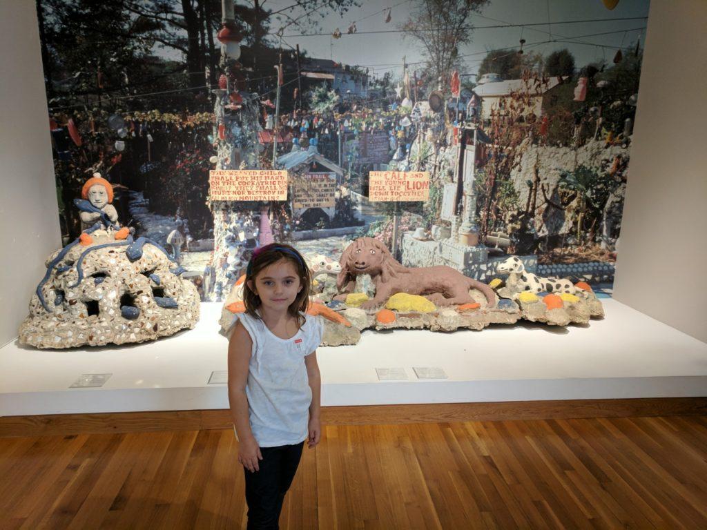 howard finster sculpture high museum