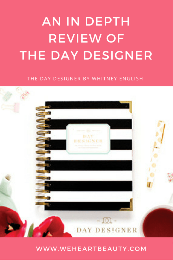 The Day Designer by Whitney English in depth review
