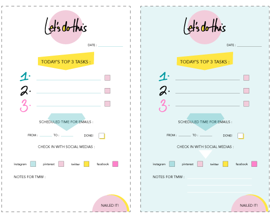 design love fest to do list free printable