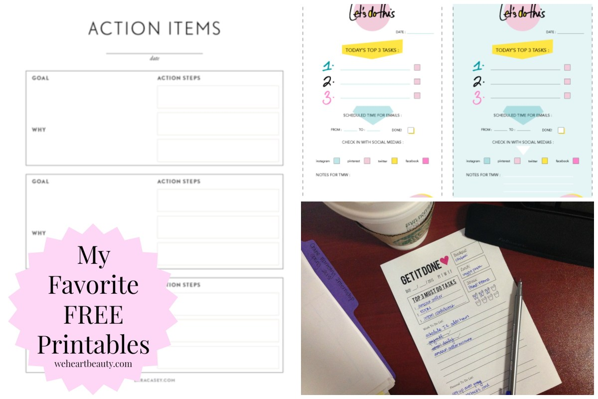 Freebies: My Favorite Printables
