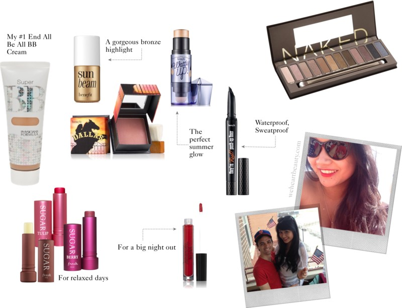 weheartbeauty summer makeup urban decay benefit physicians formula
