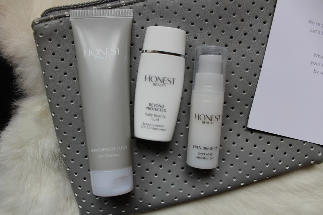 honest beauty trial kit look inside