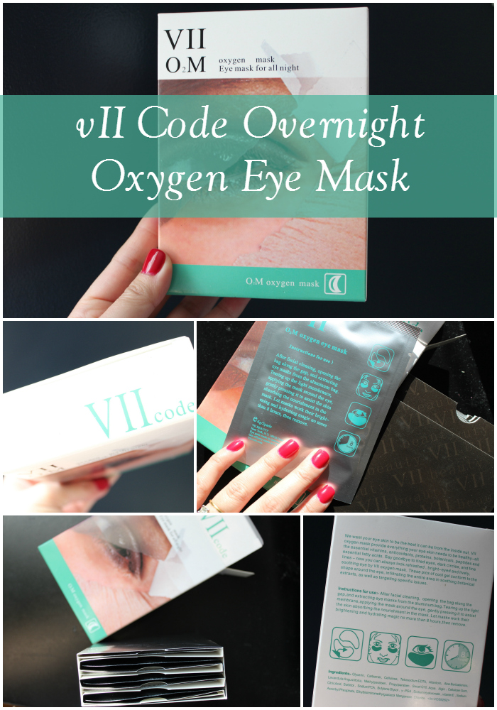 vii code overnight oxygen eye mask