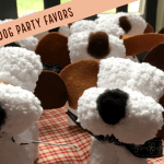 Diy Washcloth Dog Party Favors We Heart Hounds