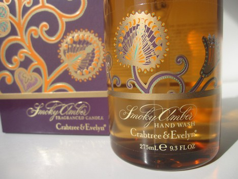 Crabtree amber1 Crabtree and Evelyn Smoky Amber Holiday collection review