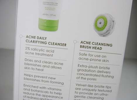 ClarisonicAcneCollection3 Clarisonic Acne Clarifying Cleansing Set   review