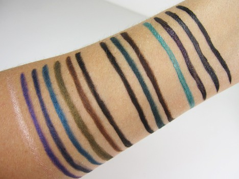 MUFEultimate13 MAKE UP FOR EVER: The Ultimate Eye Liner Collection   review, swatches and swooning