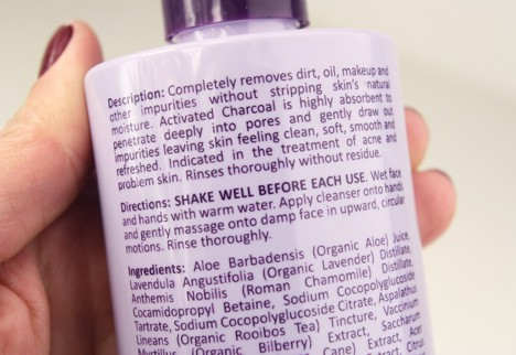 MichaelToddCharcoal3 Michael Todd Charcoal Detox Deep Pore Gel Cleanser Review