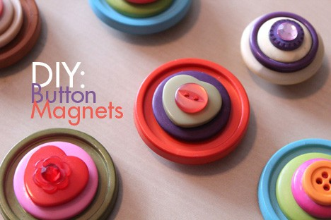 ButtonMagnets DIY: Cute as a Button Magnets