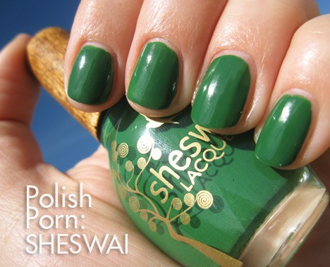 PP0216 Nail Polish Porn: Sheswai Dig It (new for spring 2013)