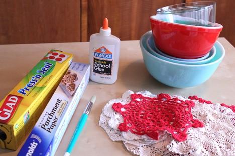 DIY Doliy bowl supplies