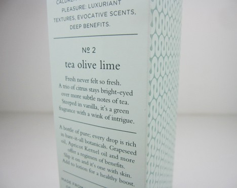 caldrea tea olive lime