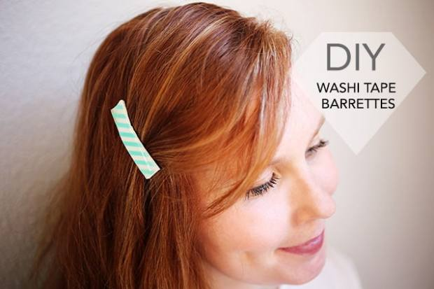 1.diywashitapebarrettes introphoto DIY: Washi Tape Barrettes