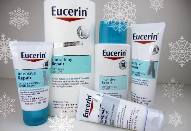 Eucerin Winter skin tips