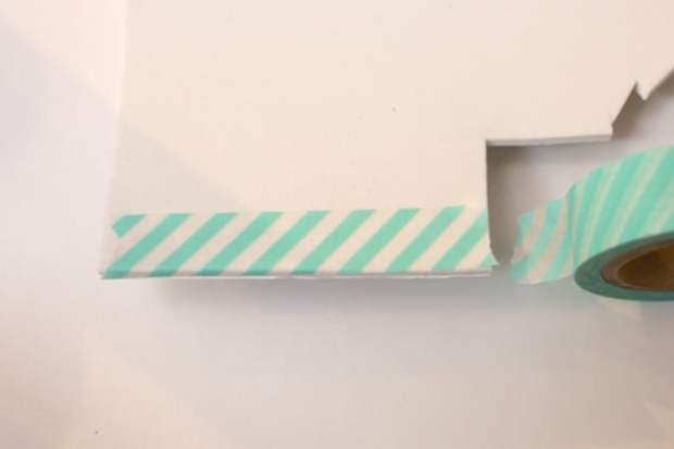 diywashitapebarrettes step1 DIY: Washi Tape Barrettes
