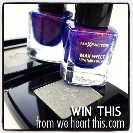 we heart this giveaway GIVEAWAY: European Holy Grails   Lancome Erika F. and Max Factor Fantasy Fire!