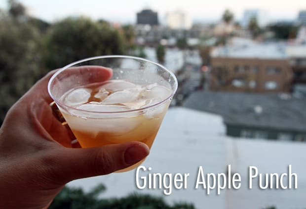 Ginger Apple Punch