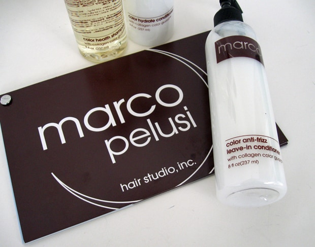 Marco Pelusi Hair Studio Intro Marco Pelusi Hair Studio and Hair Care Products   Photos and Review