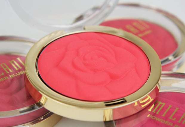 Milani Rose Blush 1 Milani Rose Powder Blush   Review and Swatches