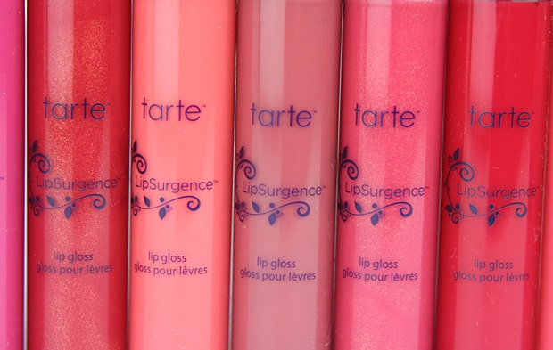tarte lipsurgence 1 tarte LipSurgence Lip Gloss   Swatches and Review