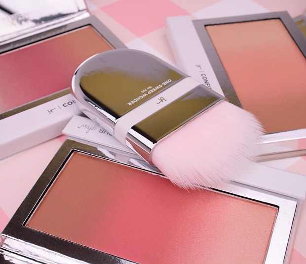 IT Cosmetics Confidence In Your Glow Blushing Bronzer 2 IT Cosmetics Confidence In Your Glow Blushing Bronzer swatches and review