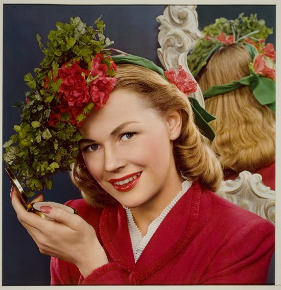 1930s colour fashion photo