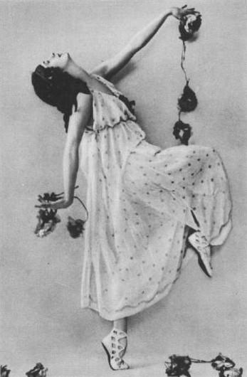 Anna Pavlova ballet costume