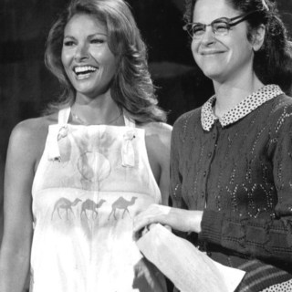 Raquel Welch laughing