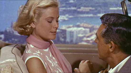 Grace Kelly and Cary Grant from the trailer of the film w:en:To Catch a Thief