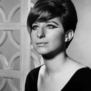 1960s portrait of Barbara Streisand