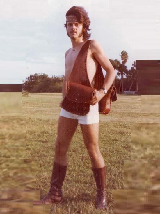 1970s Mens Fashion Short White Shorts And Leather Headband We Heart Vintage Blog Retro Cinema Photography